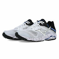 Mizuno Mens Wave Inspire 15 Running Shoes Trainers - White Sports Breathable