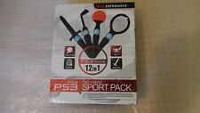 PS3 Move Sports Pack 12 en 1 para los controladores PlayStation Move Paquete de Accesorios.