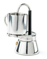 GSI Outdoors Glacier 1 Cup Personal Stainless Steel Mini Espresso Coffee Maker