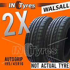 2x New 195/45R16 High Performance Budget Tyres Two Fitting Available x2 Walsall