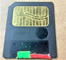 2MB SmartMedia memory expansion card: BOSS SP-202 SM-2 Dr. Sample 2 mb megabyte