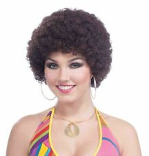 Wig Afro Wig Afro Brown 60's 70's 80's Styles Forum Adjusts Ships Free