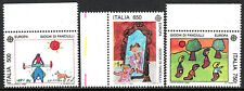 Italy 1770-1772, MNH. Children's games: Leapfrog,Playing dress-up,Sack race,1989