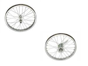 "BICYCLE WHEELSET 16"" X 1.75 STEEL CRUISER LOWRIDER BMX BIKES"