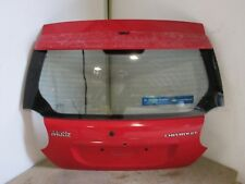 CHEVROLET MATIZ SE 2005 TAILGATE / BOOTLID PANEL IN RED 732