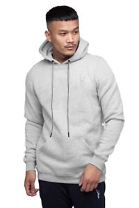 Markhoor Mens Pullover Fleece Sweatshirt Striped Causal Hooded Jumper Warm Top