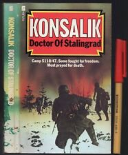 272 pages DOCTOR of STALINGRAD WWII Konsalik  RUSSIA v NAZI GERMANY