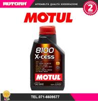 102784 Olio 8100 X Cess 5W40 100% sintetico (MARCA-MOTUL)
