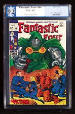 FANTASTIC FOUR #86 (Marvel 1969) PGX 9.2 NM- Near Mint Minus - DOOM cover!!!+CGC