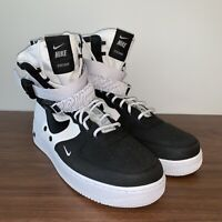 Nike SF Air Force 1 High Panda 864024-100 White Black Men's Size 11.5 D