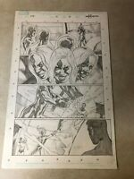 FANTASTIC FOUR cosmic special #1 original art INVISIBLE WOMAN MR FANTASTIC 2009