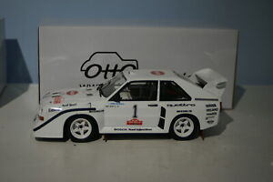 OTTO Audi Quattro S1 Olympus Rally H.MIKKOLA Ltd Resin 1:18 car OT757