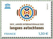 France 2019 Année internationale des langues autochtones MNH / Neuf**