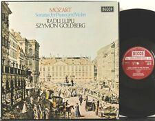 Decca 13 BB 207/212 6 discs 1W Goldberg, Lupu, Mozart violin sonatas, complete