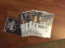 Secret Warriors 1-9 And The List One Shot Bendis Fury XMen Avengers S.H.I.E.L.D.