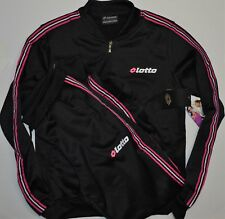 Brand New Lotto Active Top and Pants Set Tracksuits Women's Size M Black $125