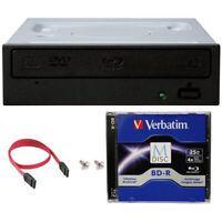 Pioneer BDR-212DBK Internal 16x Blu-ray Writer Drive + 25GB M-Disk+Cable+Screws