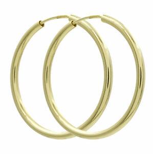 Echt Gold 333 / 585 Creolen 9 - 60 mm Ohrringe Damen Herren Kinder Ohrschmuck ❤️