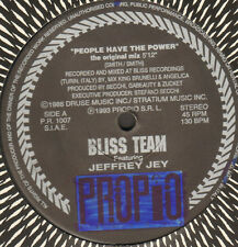 BLISS TEAM - People Have The Power , Feat. Jeffrey Jey - 1993 Propio Italy