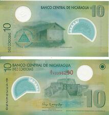 Nikaragua / NICARAGUA - 10 Cordobas 2007 (2012) UNC - Pick 201b