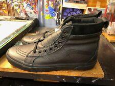 Vans Sk8-Hi MTE Leather Black Size US 10.5 Men New Rare