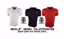 Golf God Clothing Mens Polyester Polo Shirt
