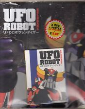 dvd + Poster GOLDRAKE UFO ROBOT numero 3 UN AMICO DALLO SPAZIO