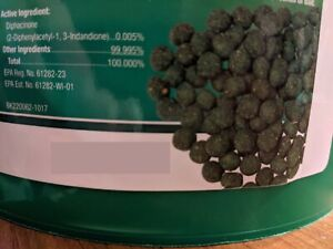 LOT OF 3 Ramik Rodenticide 1.5oz Nugget Pellet Rat Mouse Mice Poison Killer Bait