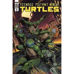 Teenage Mutant Ninja Turtles #121 IDW Comics Cover C Alleyne 1:10 Variant