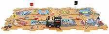 Train Puzzle Track Play Set Battery Operated Vehicle Interchangeable Tracks