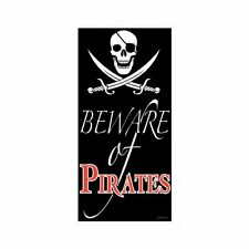 Beware Of Pirates Door Cover Decoration