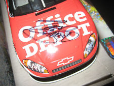 JSA TONY STEWART Signed OFFICE DEPOT Die Cast Car PROOF