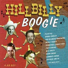 CD: HILLBILLY BOOGIE vg 4 discs