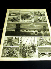 Brooklyn Bridge Views APPROACH FULTON FERRY ROADWAY 1883 Large Folio Print