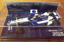 1/43 WILLIAMS 2002 LAUNCH CAR BMW RALF SCHUMACHER