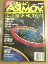 ASIMOV'S (SCI-FI) - VICTOR MILAN - April 1989 (BNIP)