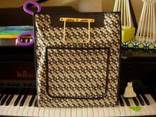 Vintage SAKS FIFTH AVE Rare Vintage Sac Plat Shopper Tote Bag Travel  Accessory