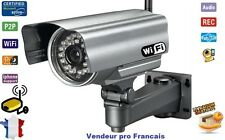 Camera IP WIFI de Surveillance Waterproof Etanche Vision Nocturne IPHONE IPAD