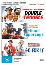 Terrence Hill Bud Spencer Vol 1 Double Trouble / Miami Supercops / Go For It DVD