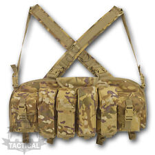 MTP  MULTICAM CHEST RIG AMMO POUCH BRITISH ARMY AMMUNITION MILITARY VELCRO