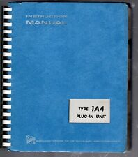 Original Tektronix Instruction Manual for the 1A4 Four-channel Plugin