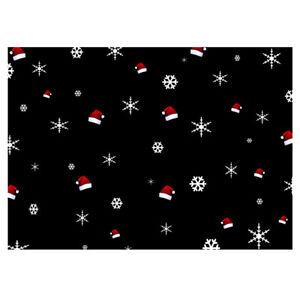Unique High Quality Santa Hat/Snowflake Gift Wrapping Paper-Size A3 - GP228