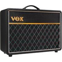 Vox LE AC10C1 10W 1x10 Tube Guitar Combo Amp Creamback Speaker JJ Tubes Black LN