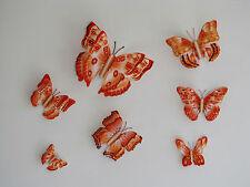 7 Set 3D Schmetterlinge Wandtattoo Wanddeko Wandtatoo Wandaufkleber GAE_007