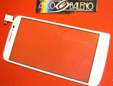VETRO+TOUCH SCREEN BIANCO+BIADESIVO ALCATEL ONE TOUCH POP C7 OT 7041D DISPLAY OT