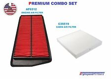 AF6312 C35519 COMBO Engine & Cabin Air Filter for 2007- 2010 2011 2012 ACURA RDX