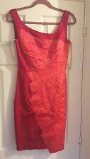 Karen Millen Red Fan Dress size 12