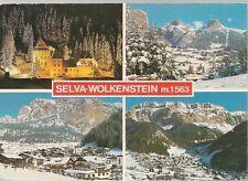 SELVA GARDENA/WOLKENSTEIN - 4 VEDUTE - V1986