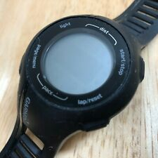 Garmin Forerunner 210 Black GPS Fitness Activity Digital Watch Hours~Untested