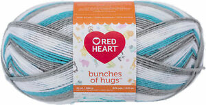 Red Heart Bunches Of Hugs Yarn-Magical 100% acrylic 14oz/397g, 948yd/868m